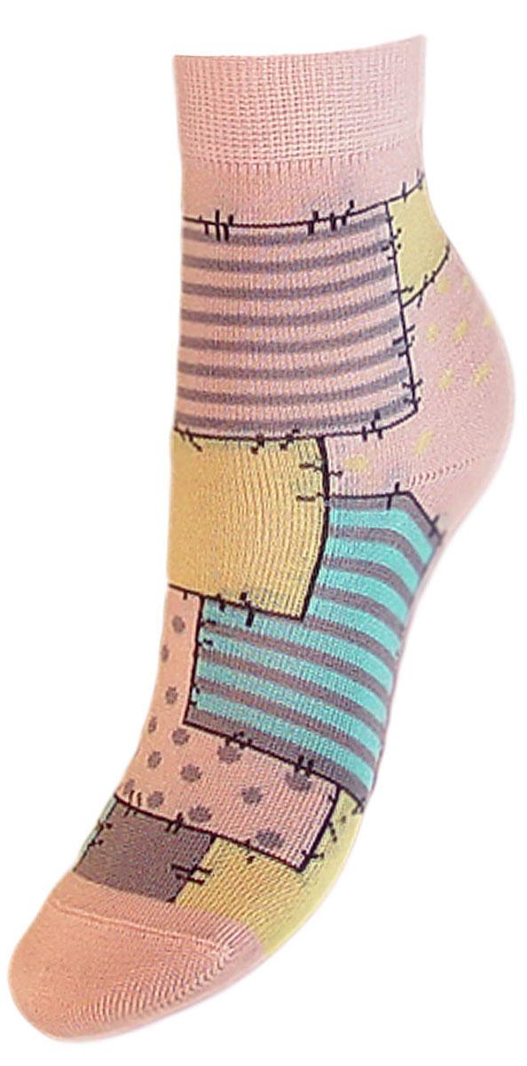 Носки детские Гранд, цвет: розовый, 2 пары. YCL48. Размер 16/18YCL48Детские носки выполнены из высококачественного хлопка. Носки с текстурным рисунком по всему носку заплатки хорошо держат форму и обладают повышенной воздухопроницаемостью, имеют безупречный внешний вид, после стирки не меняют цвет, усилены пятка и мысок. За счет добавления лайкры в пряжу, повышена эластичность и срок службы изделия.Носки произведены по европейским стандартам на современный вязальных автоматах.