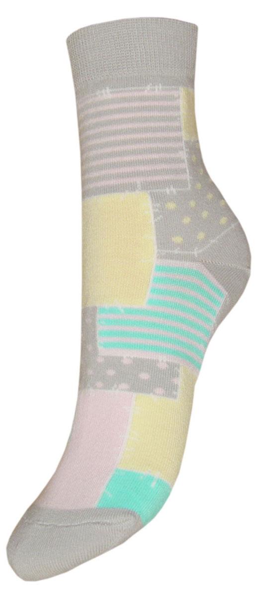 Носки детские Гранд, цвет: серый, 2 пары. YCL48. Размер 18/20YCL48Детские носки выполнены из высококачественного хлопка. Носки с текстурным рисунком по всему носку заплатки хорошо держат форму и обладают повышенной воздухопроницаемостью, имеют безупречный внешний вид, после стирки не меняют цвет, усилены пятка и мысок. За счет добавления лайкры в пряжу, повышена эластичность и срок службы изделия.Носки произведены по европейским стандартам на современный вязальных автоматах.