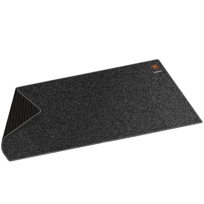 Cougar Control 2XL, Black коврик для мышиCUCOXLНескользящая черная резиновая основа с волнообразной фактурой гарантирует высокоточную работу сенсора, позволяя обойтись без лишних рывков. Идеальная толщина 5 мм служит для наилучшего комфорта кисти руки. Износостойкий край с прострочкой обеспечивает более долгий срок службы, а водонепроницаемая текстурная 3D поверхность обеспечивает максимально точное сцепление с мышью.