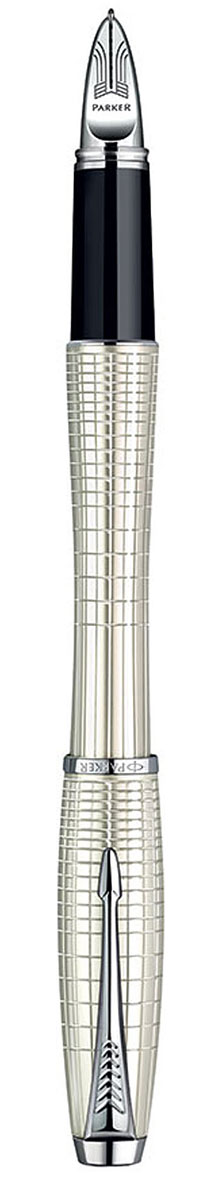 Parker Ручка-роллер Urban Premium Pearl Metal Chiselled цвет корпуса перламутровыйPARKER-S0976030Ручка-роллер с черными чернилами Parker Urban Premium Pearl Metal Chiselled сочетает в себе высокую функциональность и потрясающе красивый дизайн. Изящная ручка выполнена в роскошном цвете перламутр с оригинальными геометрическими линиями, которые придают этой модели еще больше элегантности. Блеск хромированных деталей подчеркивает безупречное качество и великолепное исполнение ручки. Стильный и характерный для продукции Parker клип в виде стрелы делает роллер Urban Premium просто неотразимым и всегда узнаваемым. Корпус ручки изготовлен из высококачественной нержавеющей стали, которая способна выдержать серьезные механические воздействия. Такую ручку можно носить с собой, активно ее эксплуатировать и не бояться, что с ней что-то случится.Ручка-роллер упакована в фирменный футляр с логотипом компании Parker. В футляре предусмотрено дополнительное отделение, в котором расположен международный гарантийный талон и стержень.Ручка Parker Urban Premium Pearl Metal Chiselled подчеркнет стиль и элегантность ее владельца и станет превосходным подарком ценителю изящества и роскоши. Ручка - это не просто пишущий инструмент, это - часть имиджа, наглядно демонстрирующая статус, характер и образ жизни ее владельца.