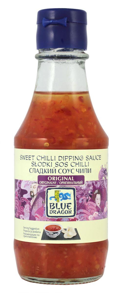 Blue Dragon Сладкий cоус чили оригинальный, 190 мл020768В качестве дип-соуса незаменим для: спринг-роллов, снеков. Восхитителен с лососем (завернуть в фольгу и запекать в духовке).