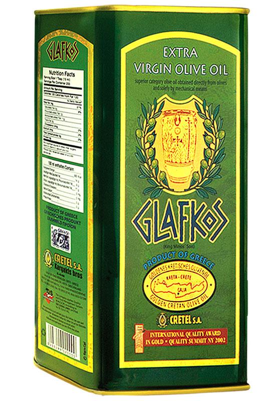 Glafkos Extra Virgin масло оливковое экстра класса, 3 л16003Оливковое масло Glafkos EV получено путём первого холодного механического отжима, благодаря чему масло сохранило все полезные витамины и минеральные вещества, содержащиеся в оливках, оно произведено исключительноизоливок отборного качествасорта Коронеики, плоды внимательно и бережно собраны на южном побережье о. Крит в районе Мессара (Греция), который являетсяодним из наиболее благоприятных мест на планете для выращивания оливок. Маслоимеет насыщенный мягкий вкус олив, слегка горьковатое послевкусие, приятный пряный аромати яркий золотисто-зеленый цвет, относится к классу Extra Virginи является абсолютно натуральным продуктом.Не содержит никаких примесей и добавок. Продукт становится мутным при низкой температуре, что не влияет на качество оливкового масла. Масло переходит в нормальное состояниепри комнатной температуре. Не подвергать воздействию прямых солнечных лучей.Один из главных показателей качества оливкового масла – кислотность, в оливковом масле Glafkos Extra Virgin не превышает0,8%,а в классе Premium этотпоказатель не превышает 0,3%.