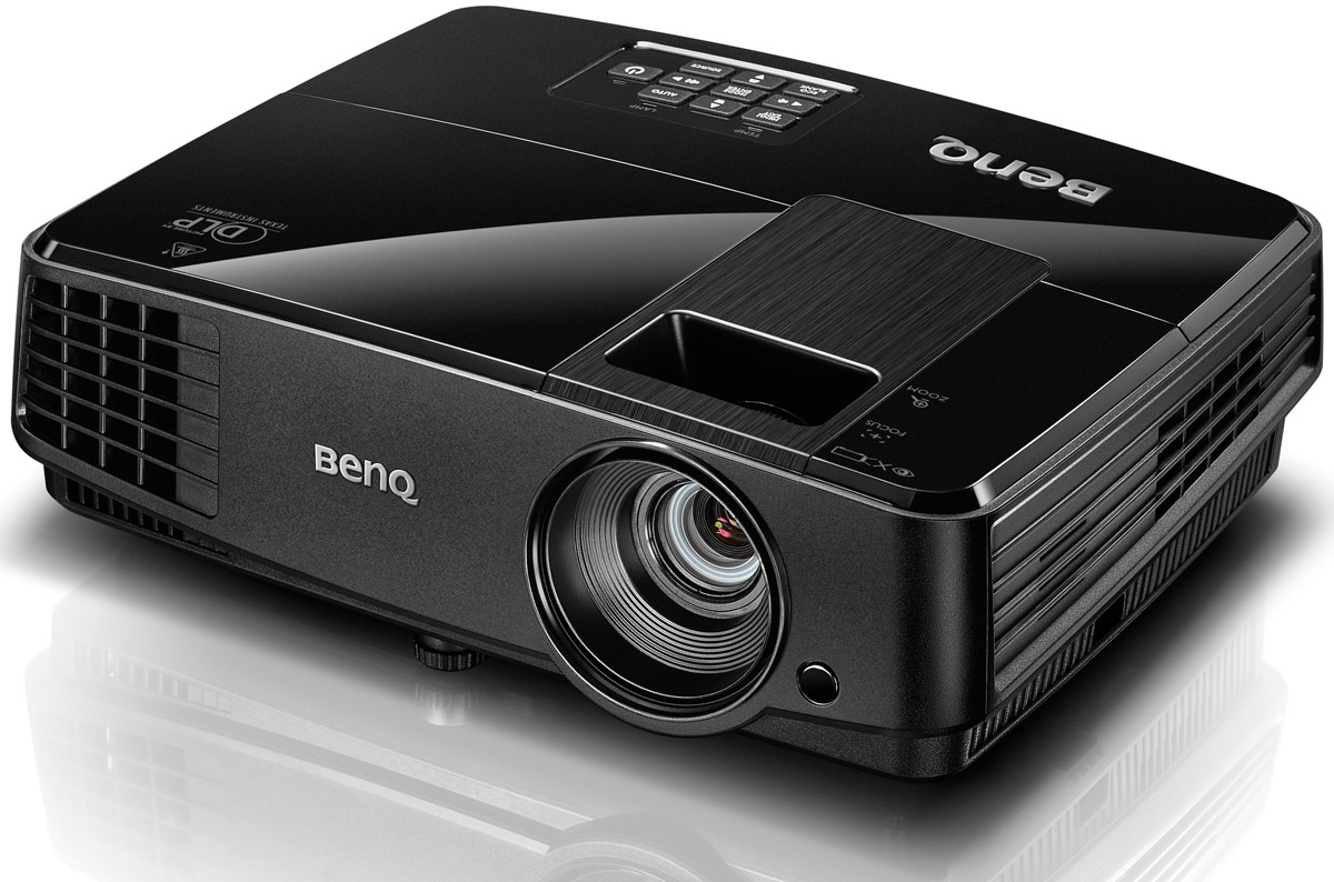 BenQ MS506 мультимедийный проектор4718755058752Мультимедийный проектор BenQ MS506 (DLP; SVGA; 3200 AL; High Contrast Ratio 13,000:1; 10000 hrs lamp life (LampSave mode); SmartEco; 1.8kg; 2W speaker; Noise level: 28dB (eco mode); Brilliant color)
