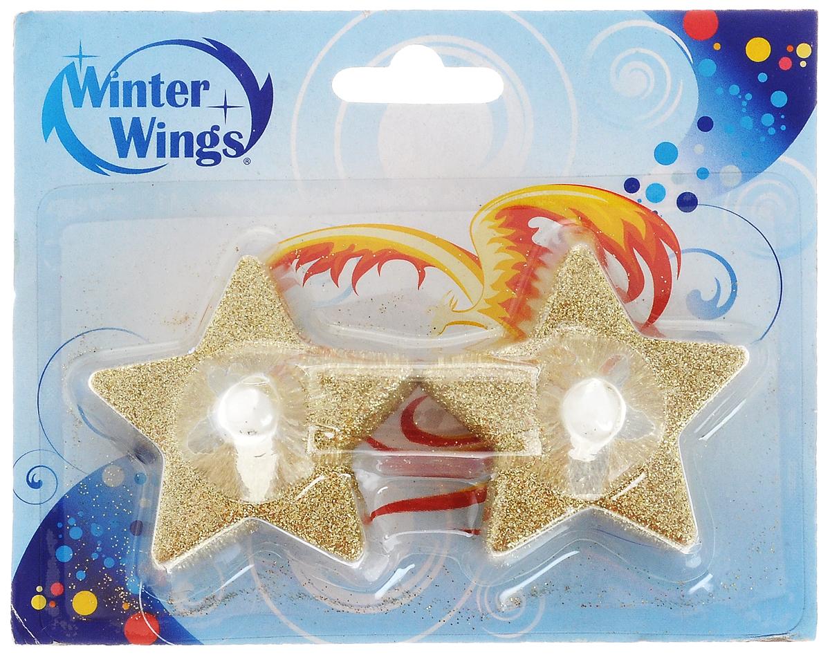Набор свечей Winter Wings Звезда. Led, 2 штN161725Набор Winter Wings Звезда. Led состоит из 2декоративных свечей. Изделия выполнены изпластика с блестками. Такой набор можно использовать в декоре интерьера. Дляработы свечи требуется 1 батарейка типа CR 2032. Выньте пластиковый протектор перед 1 применением. При необходимостибатарейка может быть заменена. Для этогооткройте крышку на основании свечи,поместите батарейку согласно знакам +/-,зафиксируйте крышку.Высота: 5 см. Размер: 5 х 5 см.