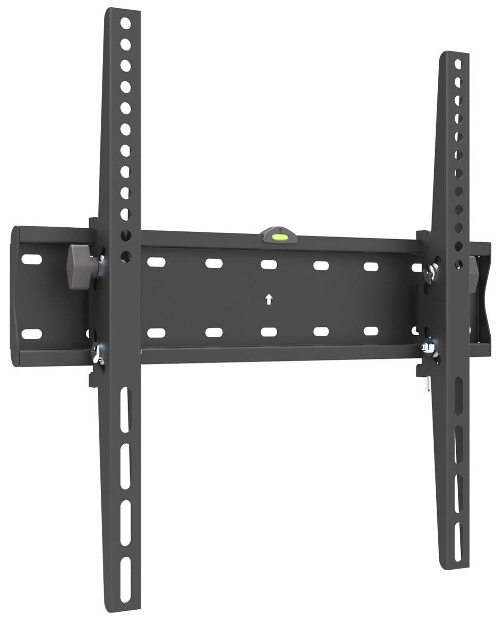 Digis DSM21-44T кронштейн для ТВ с диагональю 32-556956745101875Кронштейн с наклоном Digis для ТВ DSM21-44T 32-55 до 40кг, VESA от 200х200 мм до 400x400 мм, 53 мм от стены, наклон 10°