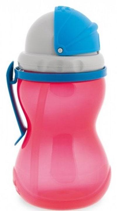 Canpol Babies Поильник с трубочкой от 12 месяцев цвет красный 370 мл