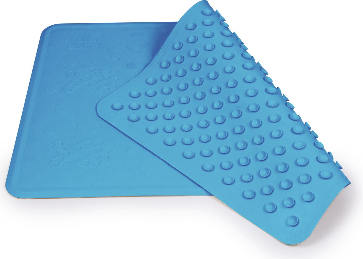 Canpol Babies Коврик для ванной цвет голубой 34 х 55 см250930661Коврик для ванной Canpol Babies выполнен из высококачественной эластичной резины, что позволяет ему не скользить во время использования. Благодаря присоскам на оборотной стороне коврик надежно крепится в ванной.Бренд Canpol Babies уже более 25 лет помогает мамам во всем мире растить своих малышей здоровыми и счастливыми.
