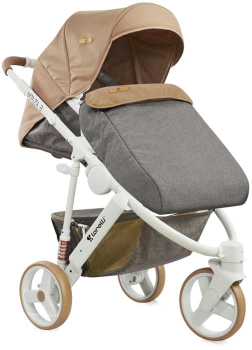 Lorelli Коляска универсальная 2 в 1 Monza-3 цвет бежевый teddy коляска 2 в 1 giovani цвет серый