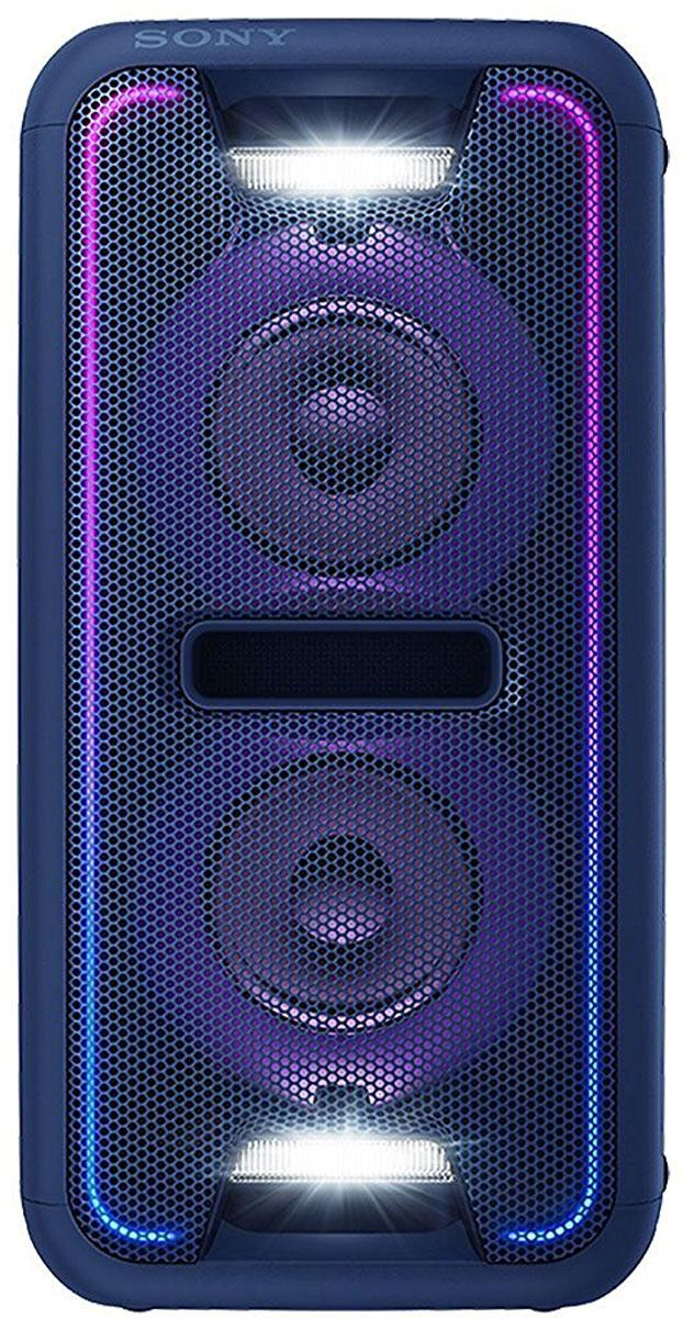Sony GTK-XB7, Blue акустическая системаGTKXB7L.RU1Создайте яркое ощущение праздника для любой вечеринки благодаря мощной моноблочной аудиосистеме Sony GTK-XB7. Функция Extra Bass и яркая подсветка помогут создать клубную атмосферу у вас дома.Активируйте режим с помощью кнопки Extra Bass, чтобы добавить мощности музыке. Этот режим усиливает звучание низких частот и обеспечивает мощный глубокий бас. Просто нажмите на кнопку, чтобы активировать режим, и приготовьтесь к оглушительному насыщенному звучанию басов.Создайте атмосферу клуба с помощью светодиодной подсветки динамика. Динамики со светодиодной подсветкой поддерживают различные многоцветные световые эффекты: от чисто белого до радужного. Синхронизируясь с музыкальным ритмом, сила и частота мерцания подсветки всегда максимально точно передают музыкальное настроение и клубную атмосферу.Удобная двухпозиционная конструкция обеспечивает великолепный звук вне зависимости от особенностей расположения акустической системы. Поставьте колонки горизонтально, чтобы добиться классической обстановки интерьера или установите их в вертикальном положении для экономии пространства. Встроенный датчик оптимизирует обработку звукового сигнала для создания стереоэффекта и обеспечивает оглушительную мощь звука в любом положении.Уникальная технология от Sony ClearAudio+ автоматически регулирует настройки звука и делает впечатления от прослушивания максимально насыщенными. Являясь результатом объединения многолетнего опыта в области технологий цифровой обработки звукового сигнала, ClearAudio+ позволяет оптимизировать звучание и обеспечить неизменно высокое качество и чистоту звука - будь то музыка, видеоигры или фильмы.Добавьте мощности своей аудиосистеме. Создайте последовательное подключение нескольких стереосистем для еще более мощного звука. Сделайте одно из устройств в цепочке ведущим и синхронизируйте воспроизведение музыки на этом устройстве с другими устройствами.Улучшение качества сжатых музыкальных файлов. Если оригинальный му
