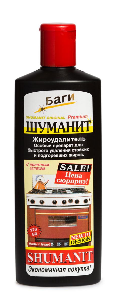 Удалитель жира Bagi Шуманит, 270 млK-208580-Nэффективный препарат для удаления стойких и подгоревших жиров с плит, кастрюль, сковород, раковин, кафеля и др. поверхностей