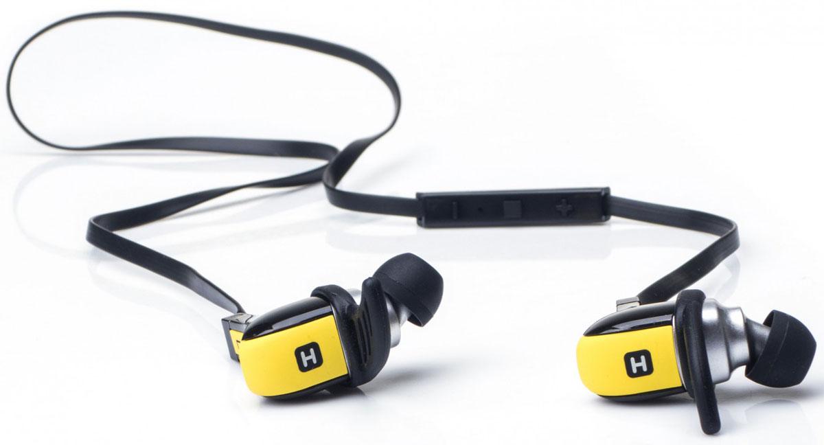 Harper HB-308, Yellow наушникиH00001135Harper HB-308 - это Bluetooth наушники-вкладыши с поддержкой регулировки громкости и комфортными амбушюрами. Компактный корпус обеспечивает комфортное использование устройства в течение всего дня, а также призанятиях спортом или пробежке. Модель поддерживает Bluetooth 4.1 и подарит вам первоклассное качество звука!