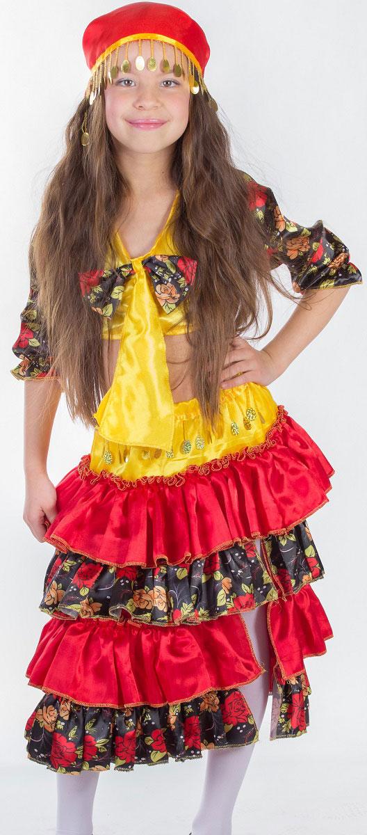 Карнавалия Карнавальный костюм для девочки Цыганка размер 122 incity карнавальный костюм единорог