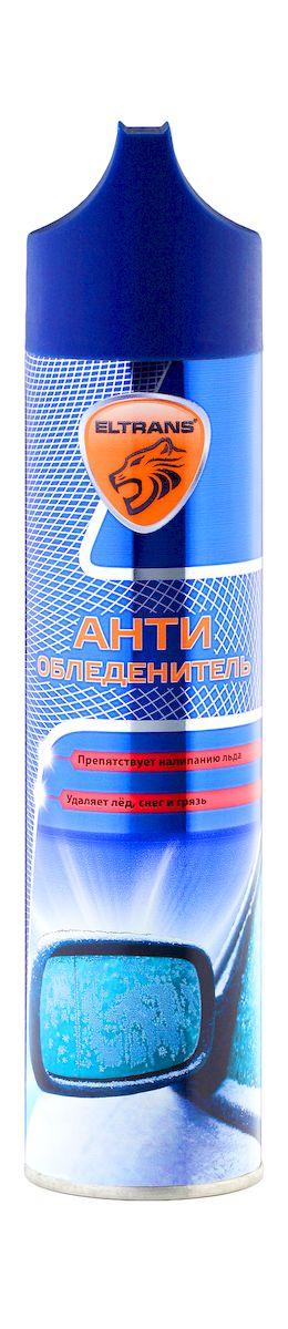 Антиобледенитель Eltrans, аэрозоль, 400 мл полироль пластика eltrans аэрозоль атлантическая свежесть 400 мл