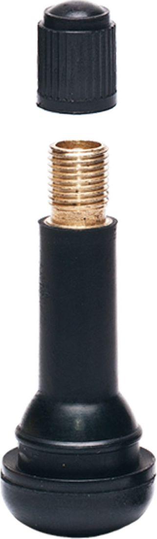 Вентиль для бескамерных шин Главдор, 14, цвет: черный, 4 штGL-59Эластичная структура вентилей, изготовленных из резины, обеспечивает полную герметизацию и беспрепятственную подачу воздуха в момент накачки колеса и проверки давления даже при сильном изгибе вентиля.В комплекте 4 шт.