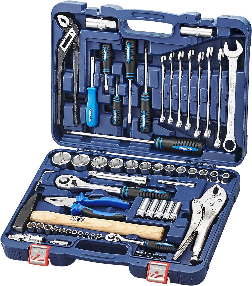 Набор инструментов универсальный Koruda, в кейсе, 72 предмета. KR-TK72