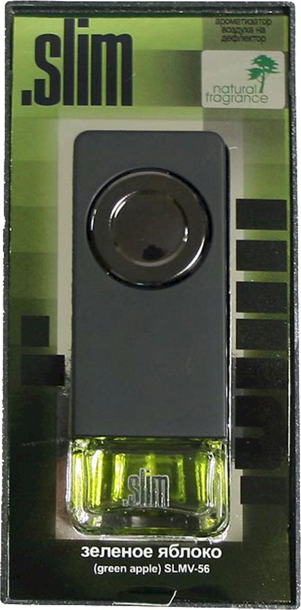 Ароматизатор автомобильный FKVJP Slim. Зеленое яблоко, на дефлектор, 8 млSLMV 56Автомобильный ароматизатор FKVJP Slim. Зеленое яблоко имеет стильный флакон с приятным ароматом яблока. Он поможет устранить неприятные посторонние запахи в салоне.Ароматизатор устанавливается на дефлектор машины.Объем: 8 мл.