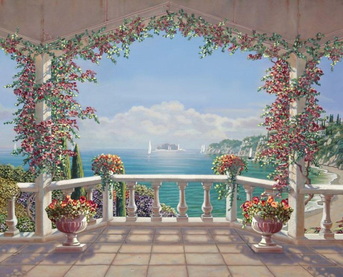 Панно декоративное Твоя Планета Южная терраса, 315 х 254 см4607161054291