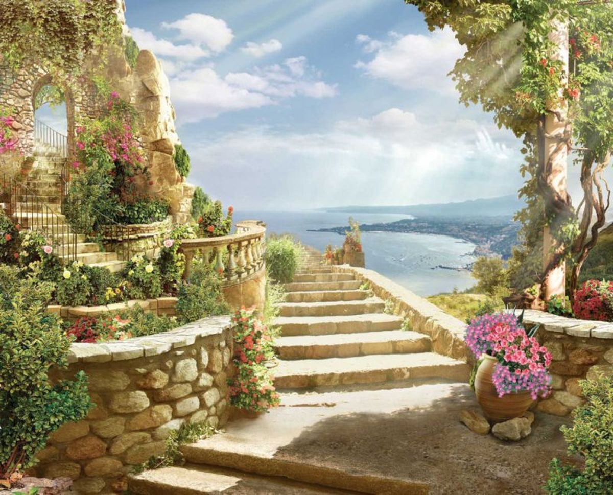 Панно декоративное Твоя Планета Романтика старины, 315 х 254 см4607161054802
