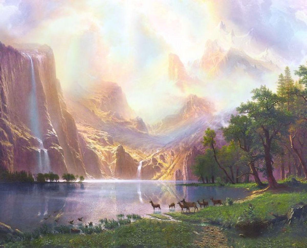 Панно декоративное Твоя Планета Волшебное озеро, 315 х 254 см4607161054130