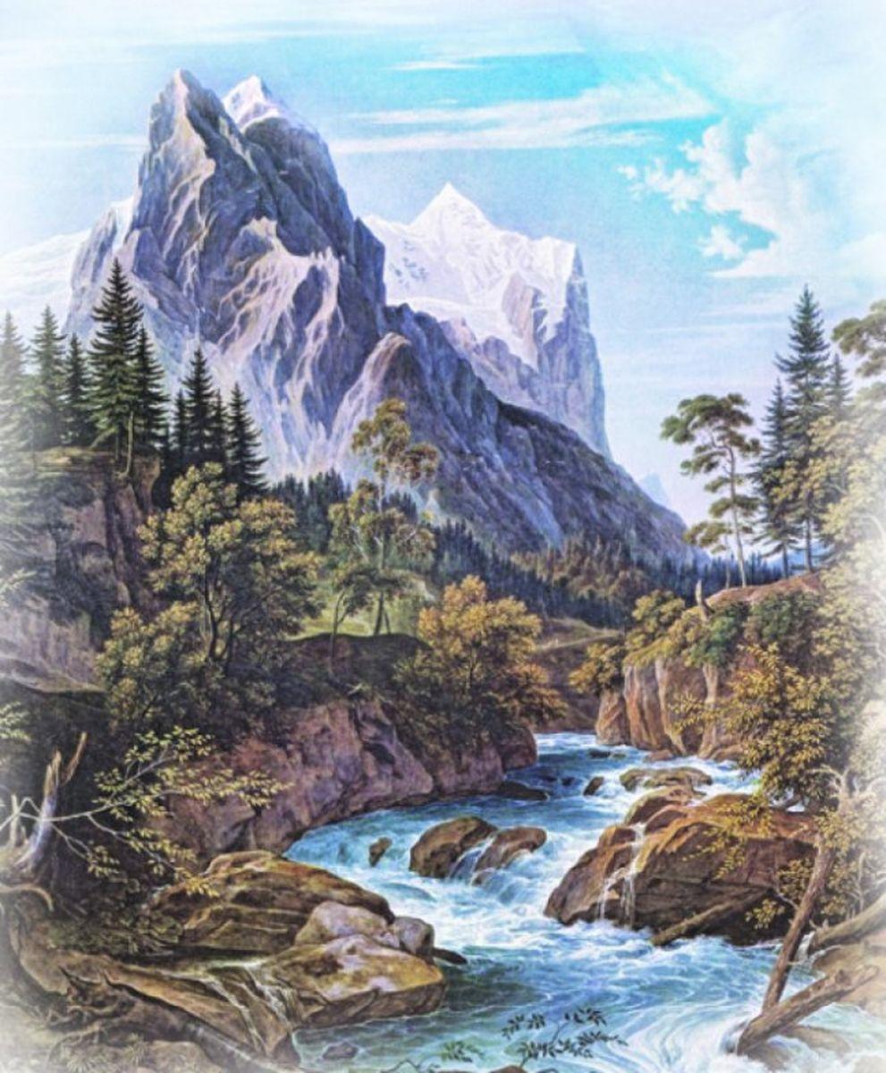 Панно декоративное Твоя Планета Романтика гор, 210 х 254 см панно декоративное твоя планета кино 210 х 147 см