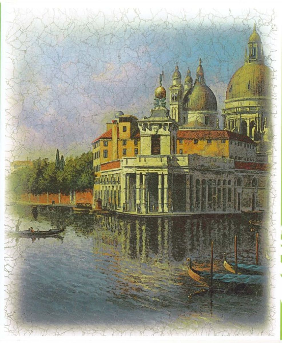 Панно декоративное Твоя Планета Венеция, 210 х 254 см панно декоративное твоя планета кино 210 х 147 см