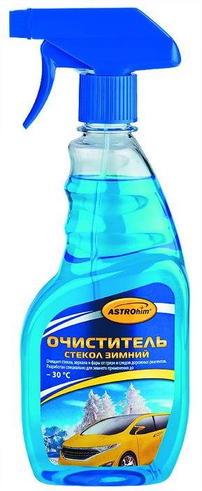 Очиститель стекол ASTROhim, зимний, 500 мл очиститель кожи astrohim с кондиционером 500 мл ас 855