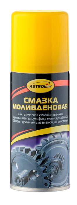 Смазка молибденовая ASTROhim, 140 млАС-4541Смазка молибденовая ASTROhim - уникальный смазочный материал для смазки шкивов, цапф, тросовых, цепных и зубчатых передач, скользящих опор, дверных замков, петель. Смазка способна поддерживать малый коэффициент трения скользящих поверхностей даже при сильных нагрузках. Смазка долговечная, устойчивая к кислотам, солям, щелочам. Наличие в составе дисульфида молибдена гарантирует сохранение смазывающих свойств даже в тех случаях, когда сама смазка уже истощена или выработалась при высоких температурах. Сохраняет неизменными смазывающие свойства от -40°С до +200°С.Способ применения:Перед использованием энергично встряхнуть баллон в течение 1-2 минут. Нанести смазку тонким слоем на обрабатываемые детали. Для труднодоступных мест использовать удлинительную трубочку.Состав: минеральное масло >30%, нефрас 15-30%, ультрадисперсный порошок дисульфина молибдена 5-15%, функциональные добавки Товар сертифицирован