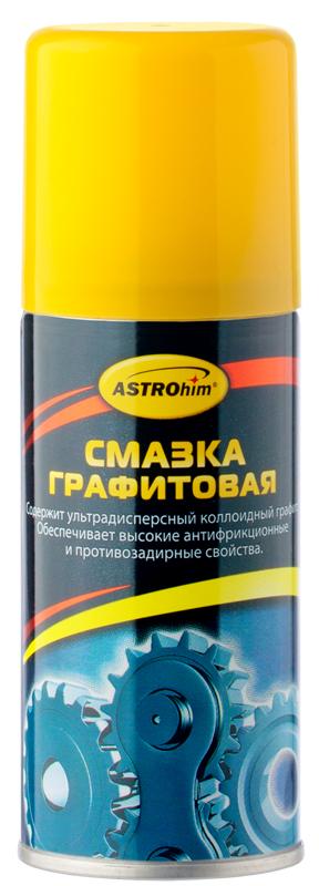 Смазка графитовая ASTROhim, 140 млАС-4551Смазка графитовая ASTROhim предназначена для ухода за автомобилем, разнообразного бытового и промышленного использования. Тонкодисперсный графит сохраняется в узле трения после того, как все остальные компоненты смазки выработаются, продолжая обеспечивать антифрикционные свойства. Предназначена для смазывания резьбовых соединений, открытых зубчатых передач, домкратов, запорной арматуры и прочего индустриального оборудования. Используется для уменьшения трения между листами рессор. Применение смазки особенно оправдано в качестве консерванта (гарантированное откручивание через много лет) различных резьбовых и прочих разборных соединений, подвергаемых термической нагрузке (соединений глушителя, посадочных мест кислородных датчиков, резьбовой части свечей зажигания, шпилек выпускного коллектора). Обладает высокой антифрикционной эффективностью, химической стойкостью и противозадирными свойствами. Сохраняет неизменными смазывающие свойства в диапазоне температур от -20°С до +70°С. Товар сертифицирован.