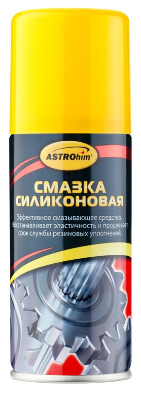 Смазка силиконовая ASTROhim, 140 млАС-4611Смазка силиконовая ASTROhim предназначена для ухода за механическими соединениями в автомобиле (замки и петли дверей, капота, багажника, стеклоподъемники, тросы, личинки замков, приводы и направляющие). Предохраняет от коррозии, устраняет неприятные скрипы. Незаменимое средство для обслуживания промышленного оборудования (для смазывания пресс-форм при производстве пластиковых и резиновых изделий, для обработки фильер в производстве химических волокон). Помогает избежать примерзания и растрескивания резиновых уплотнений дверей, багажника, капота в условиях отрицательных температур. Защищает систему зажигания от проникновения влаги и утечки тока. Профессиональная концентрированная формула образует на поверхности сплошной полимерный слой силикона с высокими смазывающими и водоотталкивающими свойствами в широком интервале температур (от -40°С до +170°С). Смазка способна оставаться на поверхности после многочисленных моек и при частом перепаде температур. Товар сертифицирован.