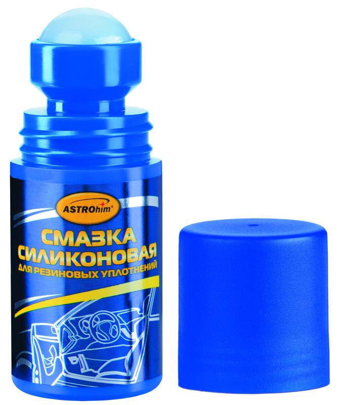 Смазка силиконовая ASTROhim, 50 млАС-464Смазка силиконовая ASTROhim применяется для обработки резиновых уплотнений дверей, багажника и капота автомобиля. Предотвращает примерзание, старение и растрескивание резиновых уплотнений. Роликовая форма аппликатора обеспечивает экономичное использование. Регулярное применение смазки восстанавливает эластичность и продлевает срок службы резиновых уплотнений, в том числе пластиковых окон. Может применяться до -20°С. Товар сертифицирован.
