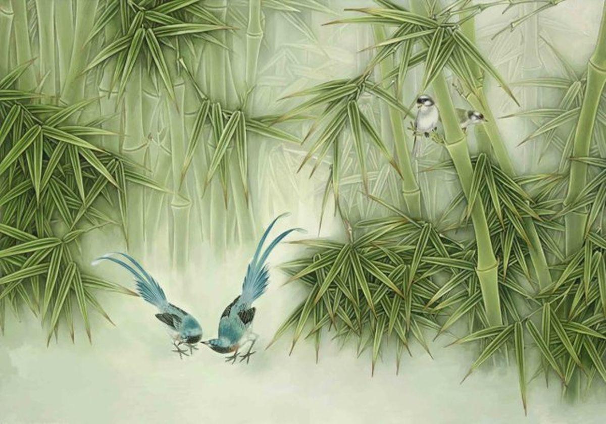 Панно декоративное Твоя Планета Бамбук, 210 х 147 см панно декоративное твоя планета кино 210 х 147 см
