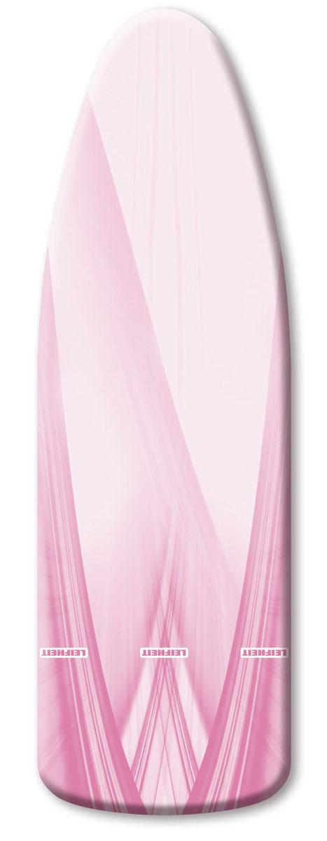 Чехол для гладильной доски Leifheit  Reflecta Speed Universal , цвет: серый, розовый, 140 х 45 см -  Гладильные доски