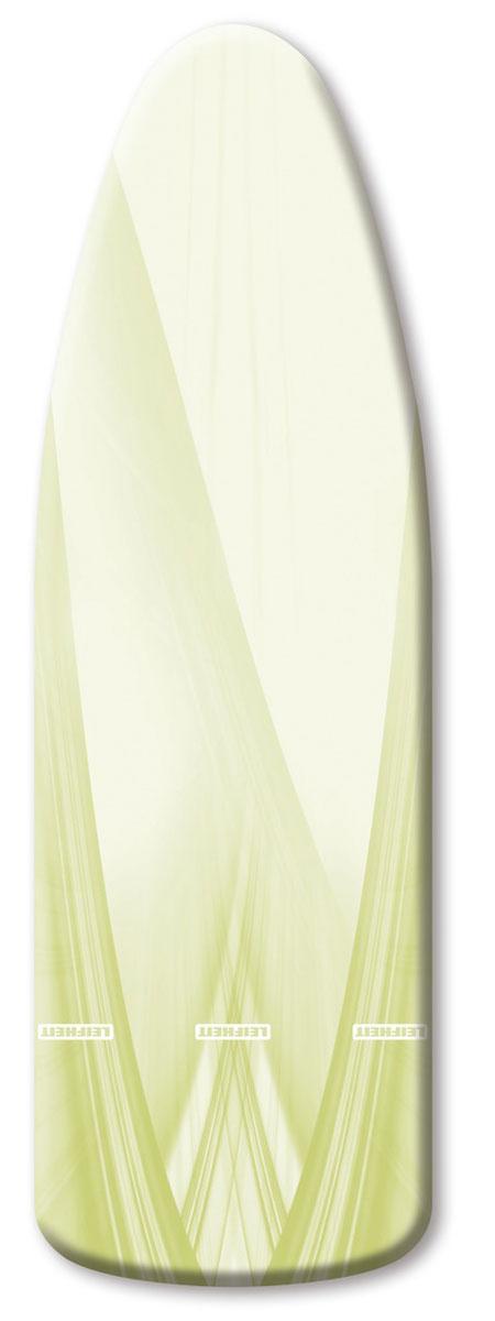 Чехол для гладильной доски Leifheit  Reflecta Speed Universal , цвет: белый, зеленый, 140 х 45 см - Гладильные доски