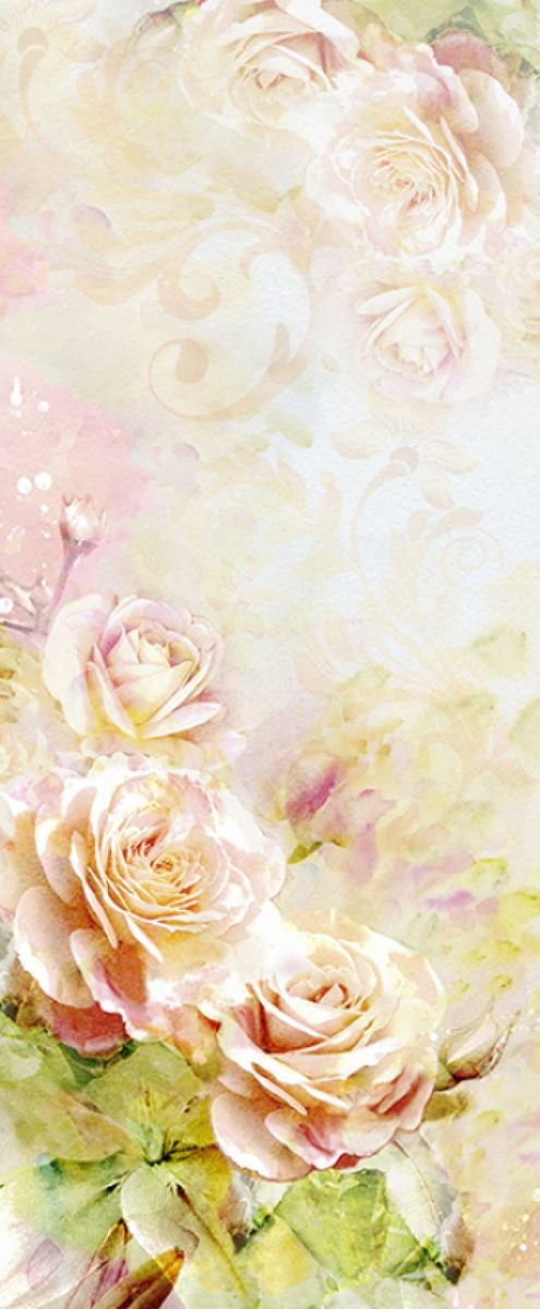 Панно декоративное Твоя Планета Розовая акварель, 105 х 254 см панно декоративное твоя планета кино 210 х 147 см