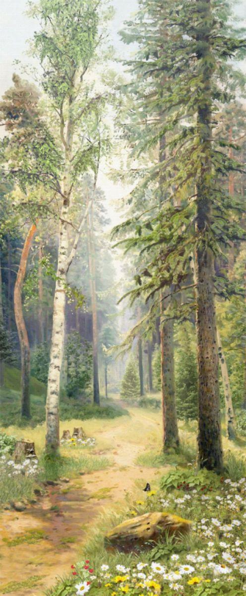 Панно декоративное Твоя Планета Дорожка в лесу, 105 х 254 см4607161054888