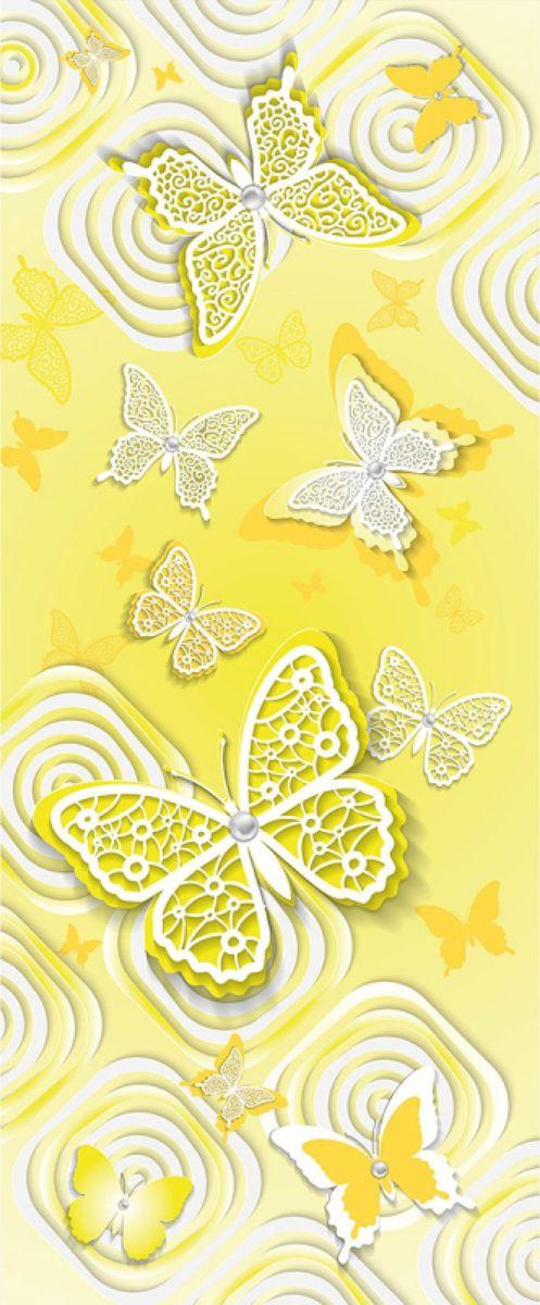 Панно декоративное Твоя Планета Баттерфляй, цвет: желтый, 105 х 254 см4607161054789_желтый