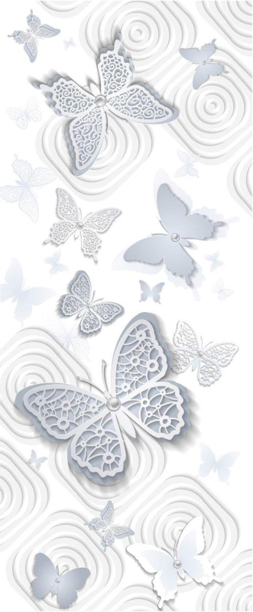 Панно декоративное Твоя Планета Баттерфляй, цвет: белый, 105 х 254 см4607161054789_белый