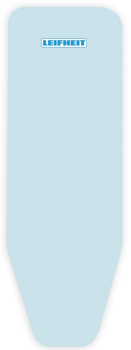 Чехол для гладильной доски Leifheit Cotton Classic M, на защелке, с поролоном, цвет: голубой, 125 х 38 см. 7232172321Хлопчатобумажный чехол Leifheit Cotton Classic M для гладильной доски с 2-х миллиметровым поролоновым слоем продлит срок службы вашей гладильной доски. Чехол отличается отличной паропроницаемость и имеет стяжной шнур по периметру и зажим, благодаря чему покрытие надежно закрепляется на рабочей поверхности. При выборе чехла учитывайте, что его размер должен быть больше размера покрытия доски минимум на 5 см. Рекомендуется заменять чехол не реже 1 раза в 3 года. Размер чехла: 125 х 38 см.