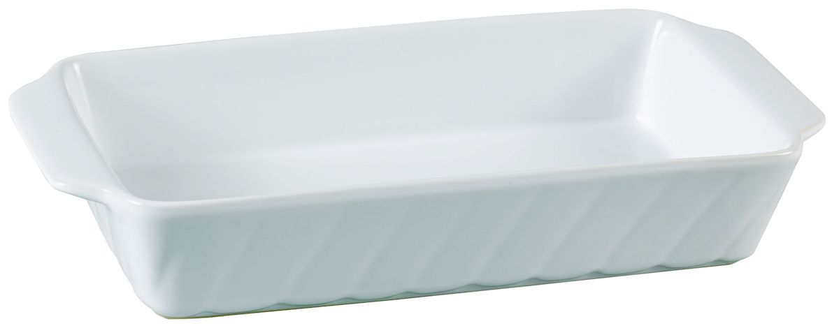 Форма для запекания Axentia, прямоугольная, 30 х 15,5 см124168Прямоугольная форма для запекания Axentia выполнена из керамики с фаянсовым покрытием, что обеспечивает оптимальное распределение тепла. Изделие оснащено удобными ручками. Пригодна для использования в микроволновых печах, морозильных камерах, духовках и для мытья в посудомоечной машине.Размер формы (по верхнему краю): 30 см х 15,5 см.Высота стенки: 6 см.