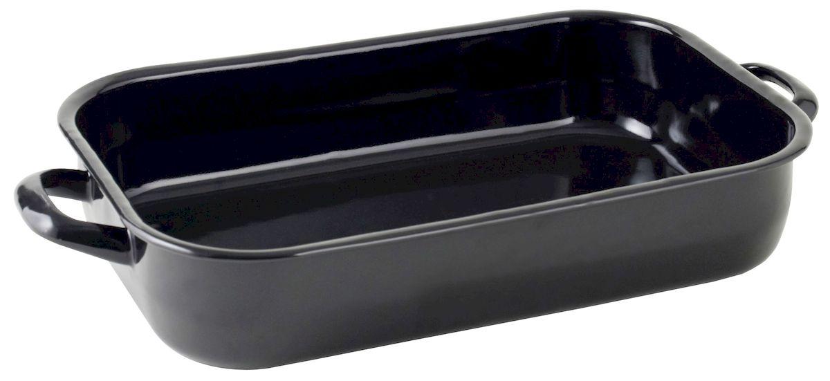Жаровня Axentia, 32 х 21 см220421Жаровня Axentia изготовлена из стали с эмалированным высокопрочным покрытием. Изделие оптимальной теплопроводности предназначено для жарки и выпечки. Жаровня оснащена удобными ручками. Можно мыть в посудомоечной машине.Высота стенки: 5,5 см.