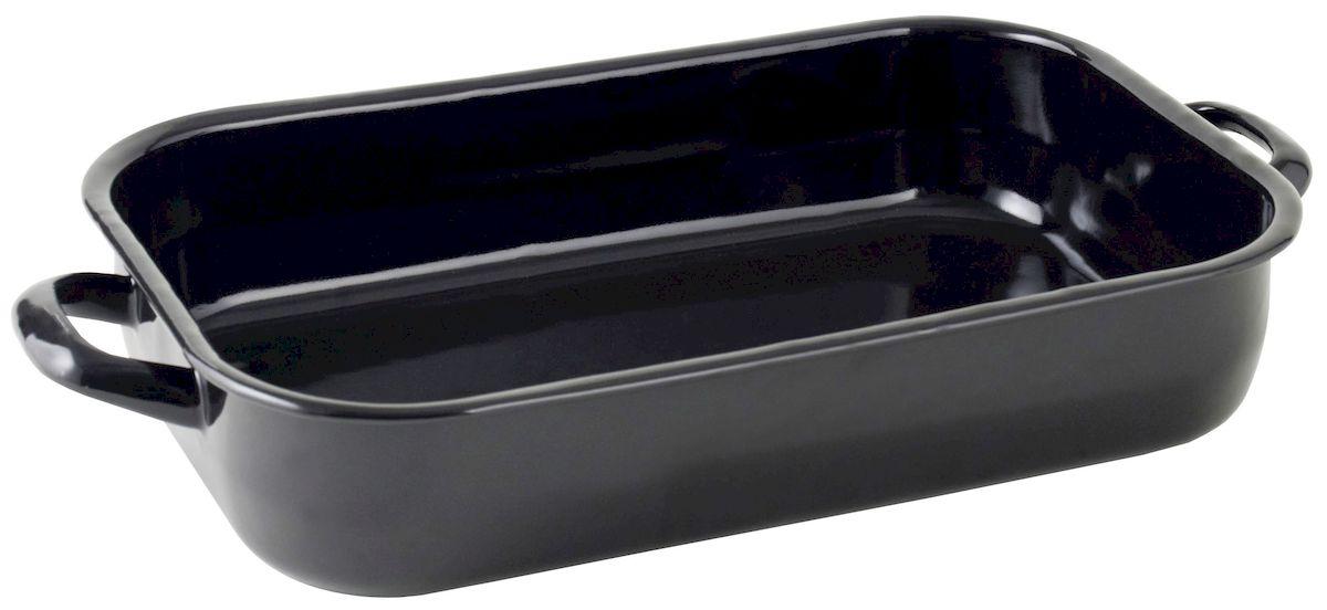 Жаровня Axentia, 36 х 24 см220422Жаровня Axentia изготовлена из стали с эмалированным высокопрочным покрытием. Изделие оптимальной теплопроводности предназначено для жарки и выпечки. Жаровня оснащена удобными ручками. Можно мыть в посудомоечной машине.Высота стенки: 6 см.