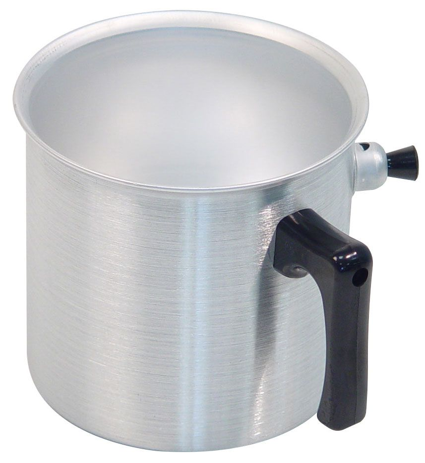 Ковш Axentia, 2 л220551Ковш Axentia, выполненный из полированного алюминия, предназначен для приготовления блюд на медленном огне без пригорания. Идеален для приготовления молочных продуктов, детского питания и диетических блюд. Ручка ковша выполнена из термопластика.Подходит для всех типов плит и варочных панелей, в том числе индукционных. Можно мыть в посудомоечной машине.