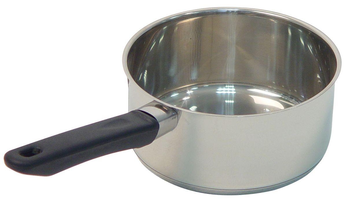 Ковш Axentia Alsass, 1,3 л221012Ковш Axentia Alsass выполнен из двухкомпонентной стали, алюминия и нержавеющей стали. Ковш оснащен удобной ненагревающейся ручкой из термопластика. Подходит для всех типов плит и варочных панелей, в том числе индукционных. Можно мыть в посудомоечной машине.Диаметр ковша (по верхнему краю): 16 см.