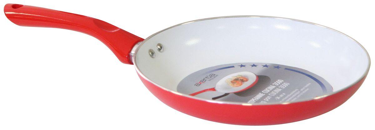 Сковорода Axentia Cucina 3500, с керамическим покрытием. Диаметр 28 см сковорода axentia cucina 4000 с антипригарным покрытием диаметр 24 см
