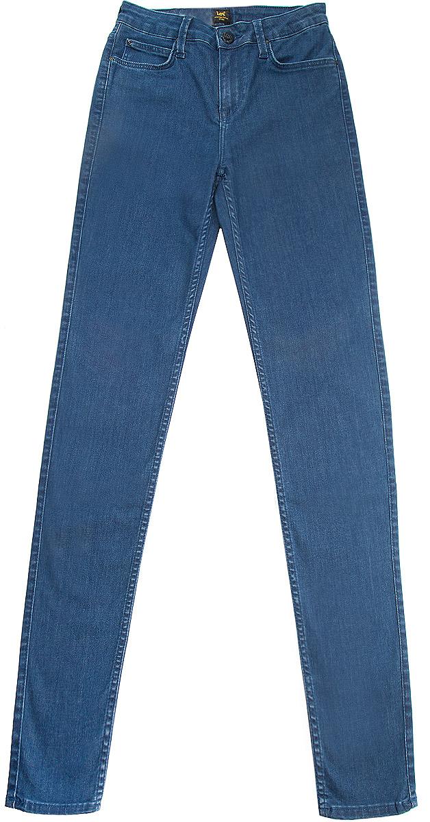 Джинсы женские Lee Scarlett High, цвет: темно-синий. L626AJFJ. Размер 28-35 (44-35) женские джинсы lee
