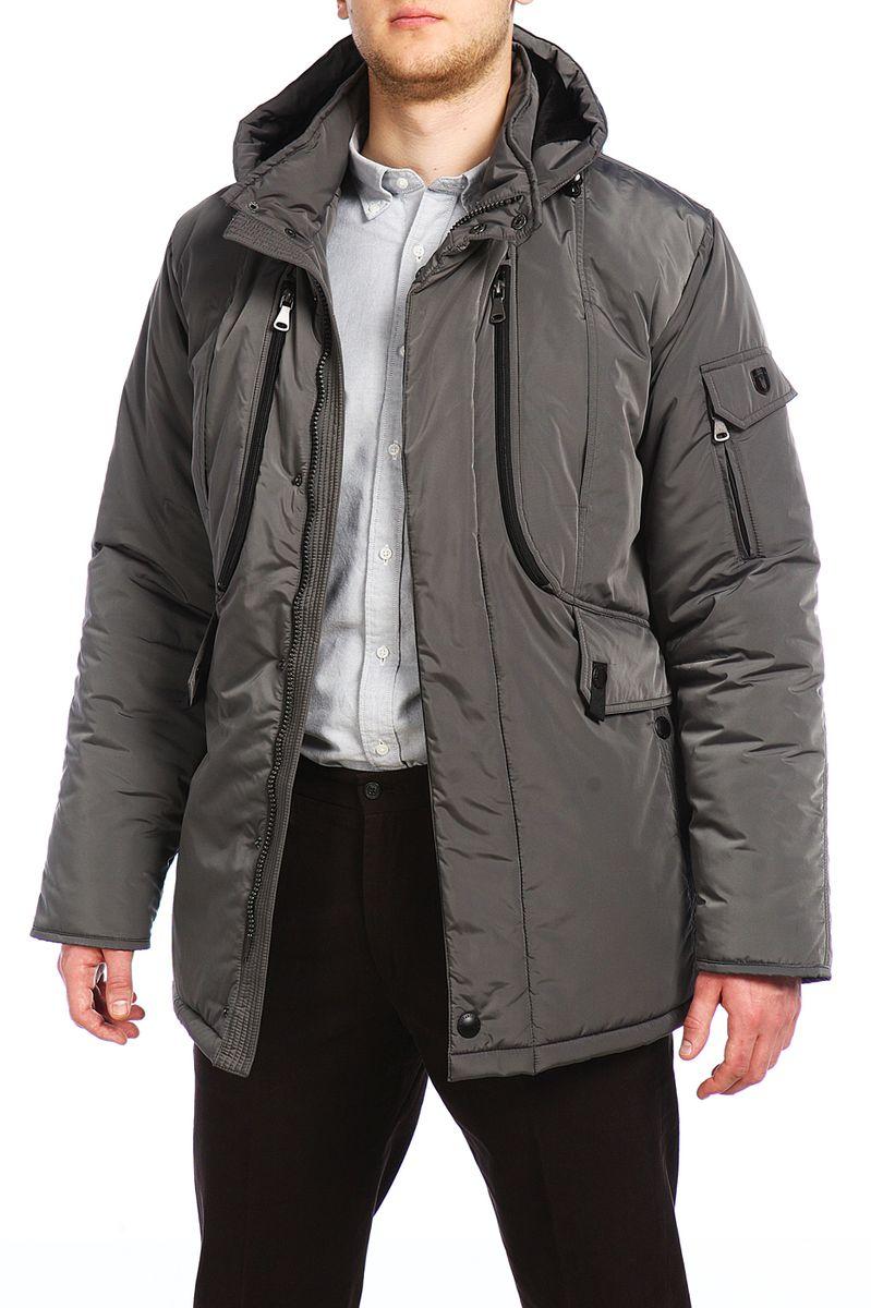 Куртка мужская Xaska, цвет: сеpый. 15420. Размер 50