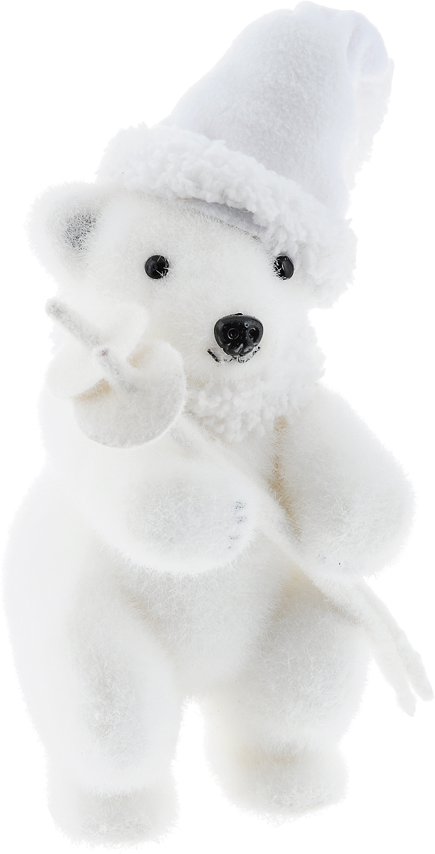 Фигурка новогодняя Winter Wings Мишка, 12 х 12 х 25 см фигура новогодняя мишка с венком 39 см