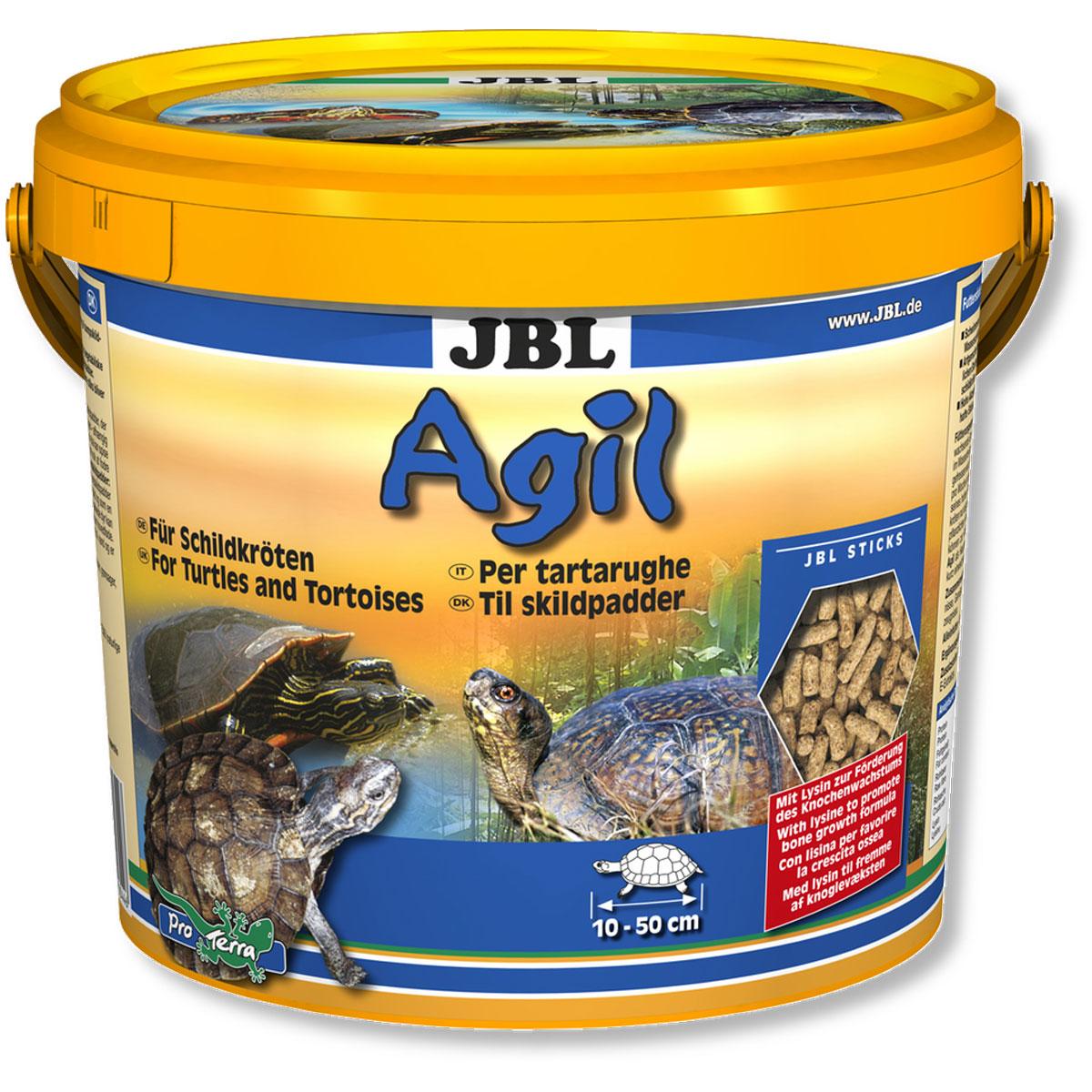 Корм питательный JBL Agil для черепах, в форме палочек, 2,5 л (1000 г)JBL7034400JBL Agil представляет собой корм, богатый питательными веществами, и содержит лизин для роста костной системы. Высокое содержание рыбьего белка и удобная форма корма делают его чрезвычайно популярным у черепах. Корм богат протеинами из рыб и креветок, благодаря чему очень эффективен в применении.Оснащен антиоксидантом Е 306 (натур. Витамин Е- экстракт).Содержание витаминов в 1000 г: Витамин А 25.000 i.E, витамин D3 2.000 i.E, витамин Е 330 мг., витамин С (стаб) 400 мг.Процентное соотношение питательных элементов: белки - 40%, жиры - 7%, клетчатка - 0,5%, зола - 8%, лизин - 2,3%. Товар сертифицирован.