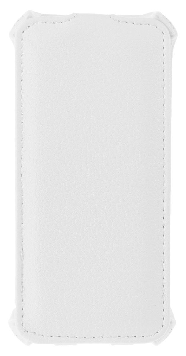 Liberty Project чехол-флип для Apple iPhone 5/5S, WhiteR0006534Флип-чехол Liberty Project для Apple iPhone 5/5S надежно защищает ваш смартфон от внешних воздействий, грязи, пыли, брызг. Он также поможет при ударах и падениях, не позволив образоваться на корпусе царапинам и потертостям. Чехол обеспечивает свободный доступ ко всем функциональным кнопкам смартфона и камере.