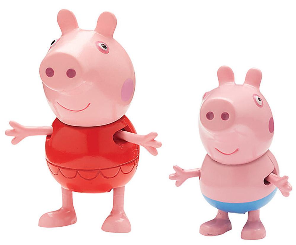 Peppa Pig Набор фигурок Пеппа на каникулах 2 шт набор свечей peppa pig 5 шт